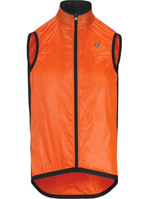 assos Mille GT Wind Vest Unisex lolly red